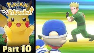 Pokémon Let's Go! Pikachu, Part 10 • Lt. Surge's Dundabolt! • STREAM ARCHIVE