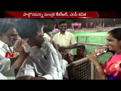 KTR & MP Kavitha To Participate in Jagtial Janahita Sabha || Telangana || NTV