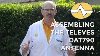 Solid Signal shows you how to assemble the Televes DAT790 antenna