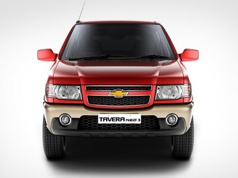 Chevrolet Tavera Neo 3 BSIV Launched in India at Rs 7.51 lakh