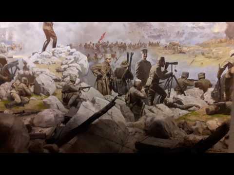 Sakarya Savaşı. The Battle of Sakarya scenes. The War of Independence Museum , Ankara
