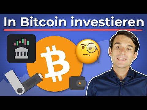 Wie kann man in Bitcoin investieren? | Finanzfluss