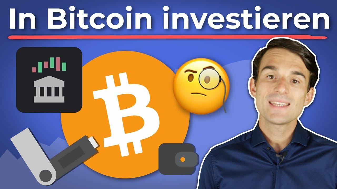 Wie kann man in Bitcoin investieren?