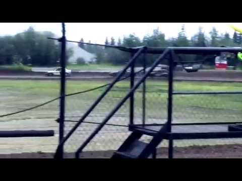 6-20-2015 MiniBomber Feature, Day 2 Dirt Shootout, Mitchell Raceway Fairbanks AK
