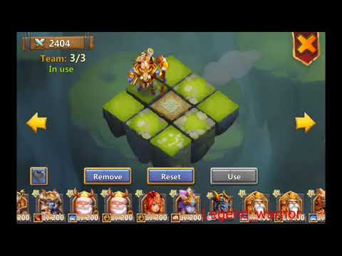 Wallawalla Gameplay On Dugeon And LR Castle Clash #195