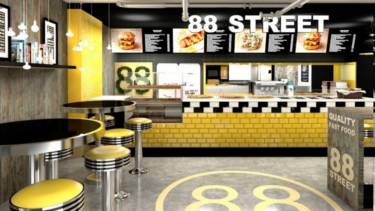Fast Food Restaurant Kitchen Design