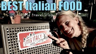 Best Little Italy San Diego restaurents | Travel Vlog