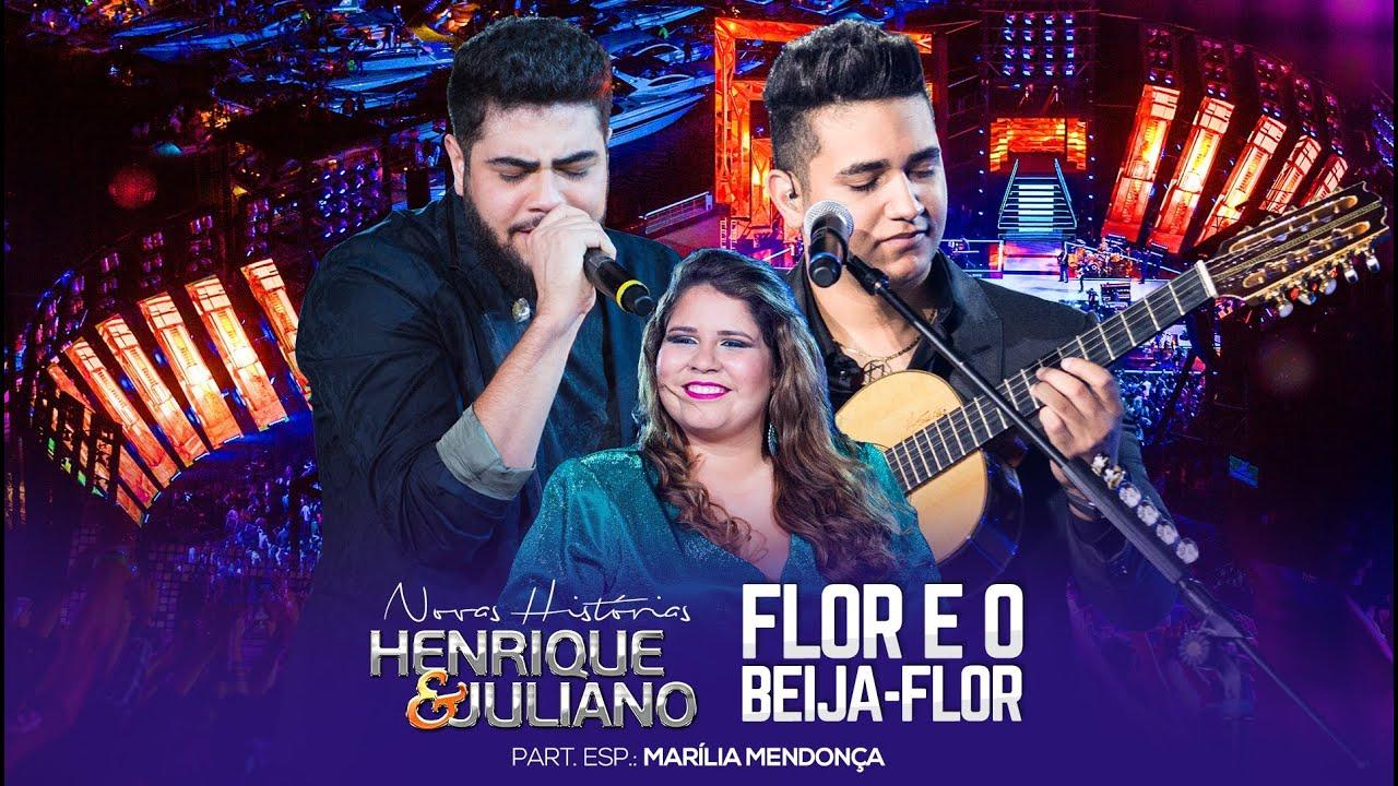 Henrique e Juliano - Flor e o beija flor - Letra