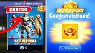 *RAPID* like UNLOCK FORTNITE BATTLE PASS 9 FOR FREE! 😱 (Free Battle Pass 9)