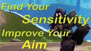 How to Find YOUR Sensitivity and Practice YOUR Aim - Fortnite Battle Royale (PC)