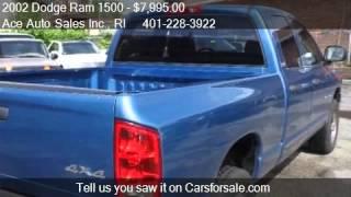 2002 Dodge Ram 1500 SLT Quad Cab Short Bed 4WD - for sale in