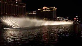 Las Vegas - Lo spettacolo delle fontane del Bellagio