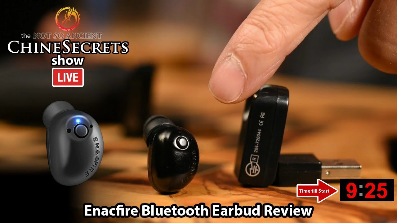 e7a38b0638c Enacfire Bluetooth Earbud Review - YouTube