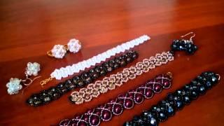 Украшения из бисера и бусин. Браслеты. Beads. Bracelets