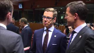 Special European Council on migratory pressure in the Mediterranean