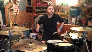 "Underoath - ""A Boy Brushed Red Living in Black and White"" (Drum Cover)"
