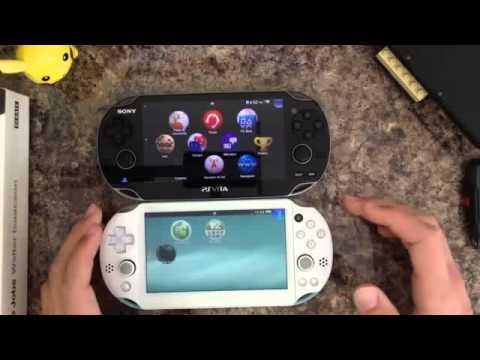 Playstation vita slim vs playstation vita fat