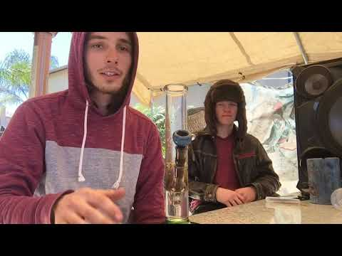 Quick Bong Rips with the Homie!