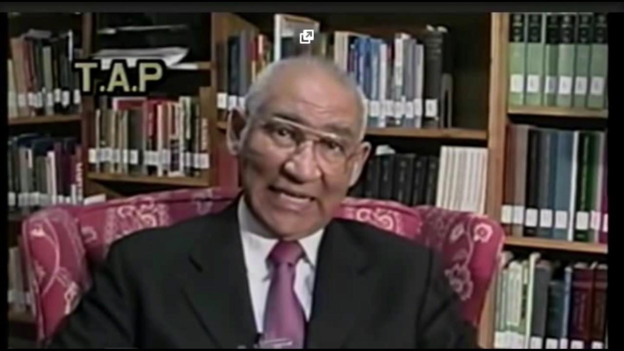 "Dr Edwin J Nichols: ""... To be black..."""