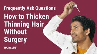 Hair Club Hair Growth Products HD