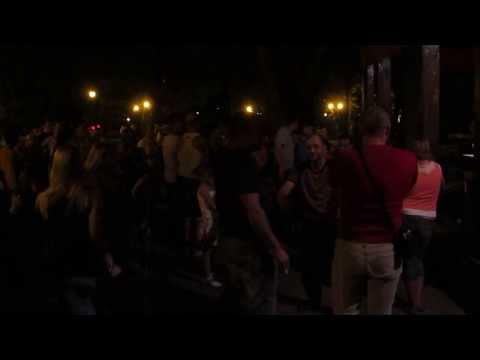 Караоке 5 День города Харьков Сад Шевченко 23 августа 2013 Kharkov karaoke