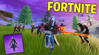 WE TAKE OVER THE ENTIRE SERVER WITH L22 CREW! * NEW FORTNITE SKIN & CRAZY ITEM SHOP *