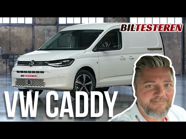 Ny VW Caddy Van (verdenspremiere)