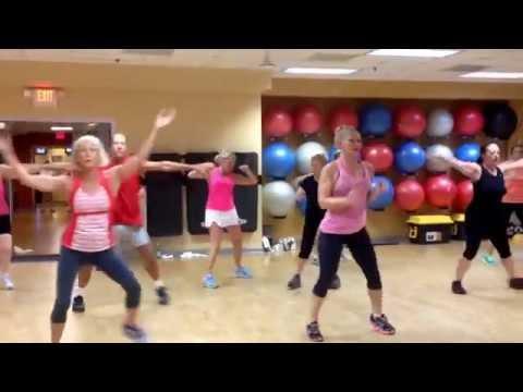 Disco cardio fitness dance with Chris Dorner at newtown athletic club Pennsylvania
