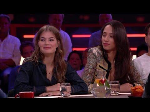 Myrthe Bolt en Yasmin Wijnaldum zijn internationaal topmodel - RTL LATE NIGHT MET TWAN HUYS thumbnail