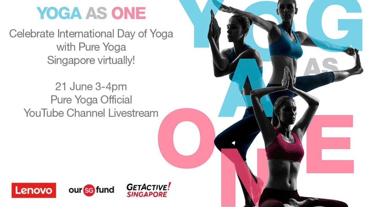 Yoga As One With Pure An International Day Of Yoga Event Youtube