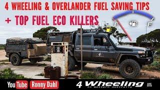 Off-road fuel economy advice