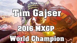 True Grit - Tim Gajser: 2016 MXGP World Champion