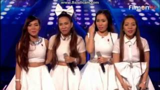 4th Impact sings Problem on The X Factor UK 2015 Live Week 1 (Full)