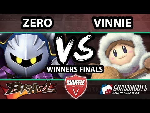 Shuffle V - Vinnie (Ice Climbers) Vs. ZeRo (Meta Knight) - Winners Finals - SSBB