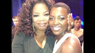 Oprah and Lupita Nyong'o Critic's Choice & Grammys Inspired Makeup Tutorial Thumbnail