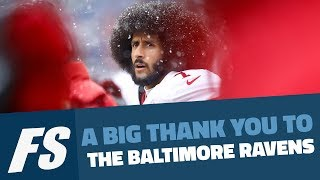 A Big Thank You To The Baltimore Ravens