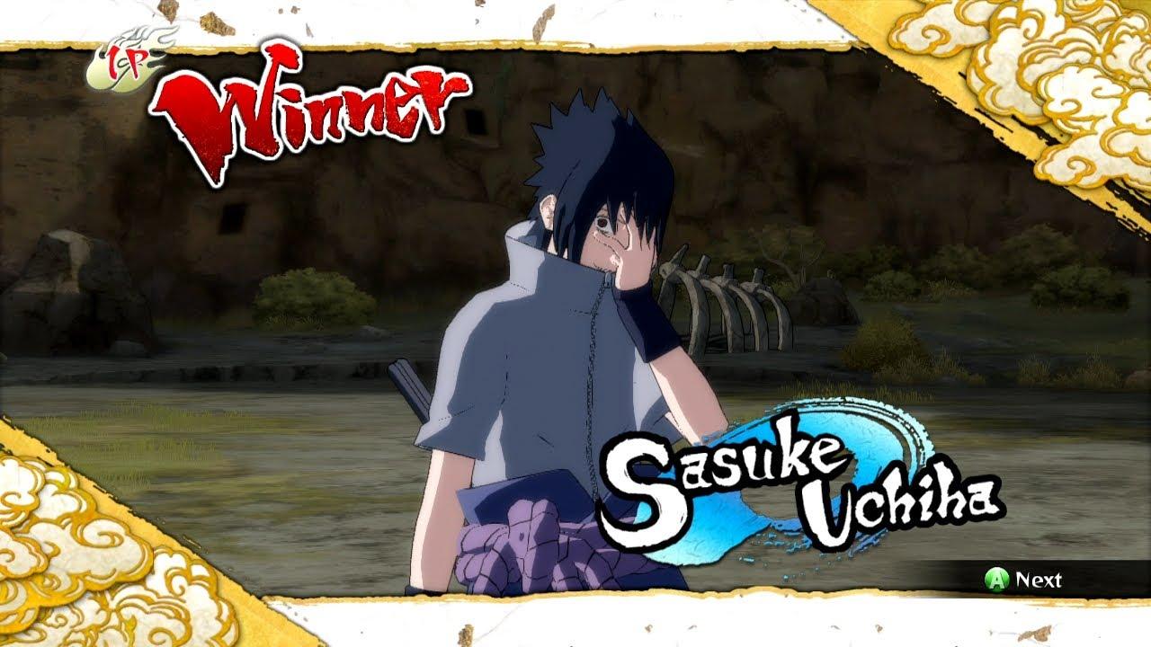 Naruto Ultimate Ninja Storm 3 EMS Sasuke Complete Moveset ...