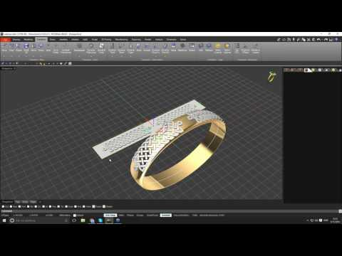 Quick & Practical Jewellery Design with RhinoGold - Celtic Bangle