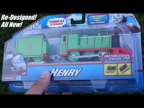 Unboxing the Newly Redesigned Trackmaster HENRY  Thomas & Friends