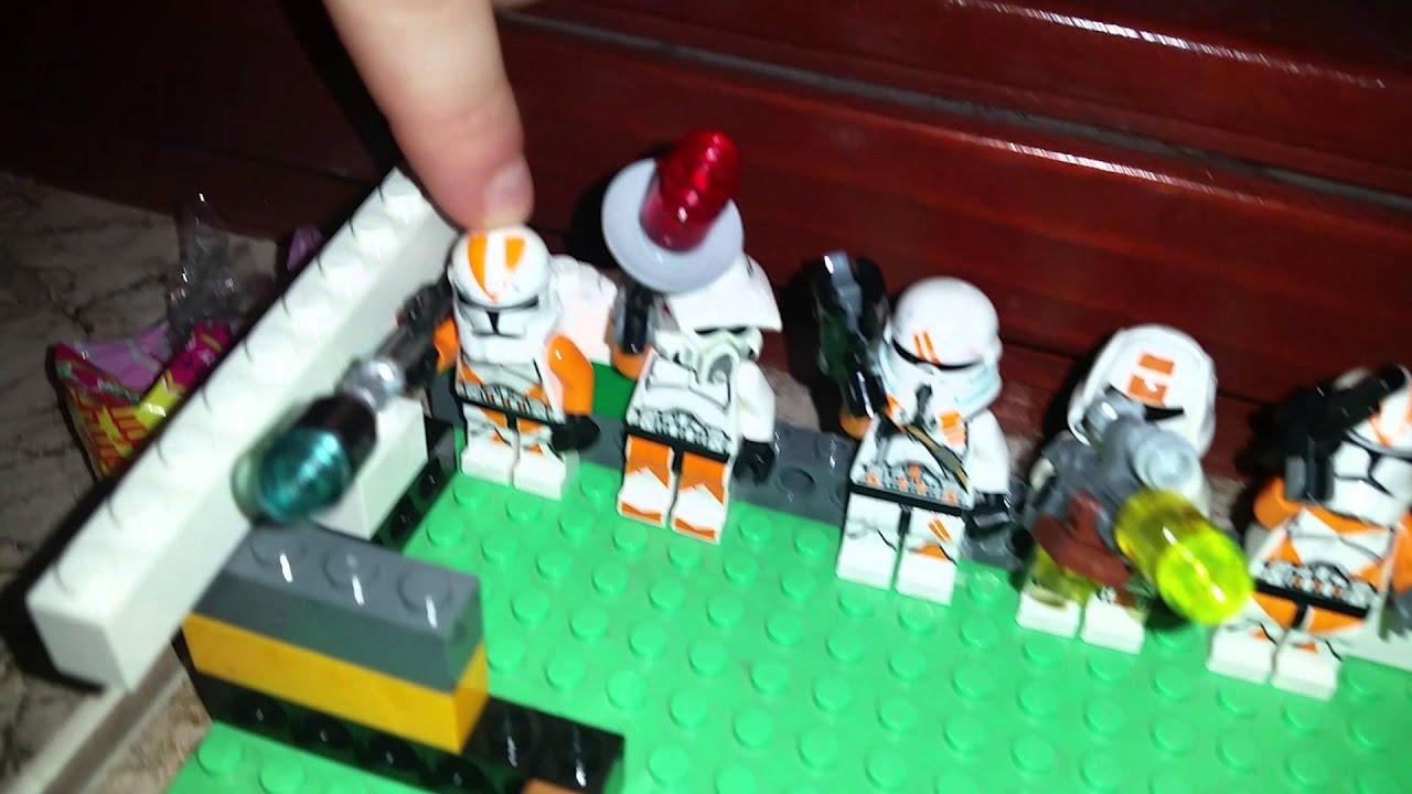 Lego Star Wars Makieta Odcinek 2 Youtube