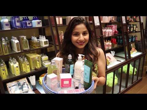 Top 10 Summer Beauty Essentials at L'Occitane by Akriti Sachdev | Phoenix Marketcity Chennai