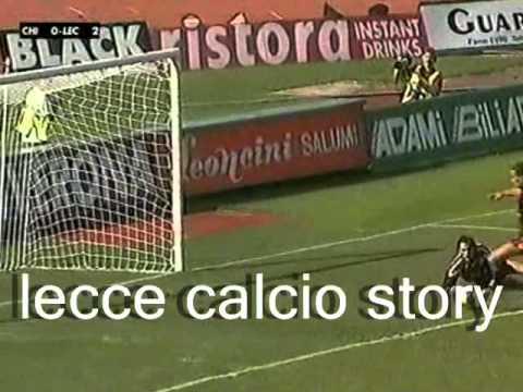 Il gol di Marco Zamboni in Chievo-LECCE 1 a 2 del 13 giugno 1999