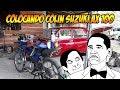 Suzuki AX 100 - COLOCANDO COLIN STUNT - Radialero Team