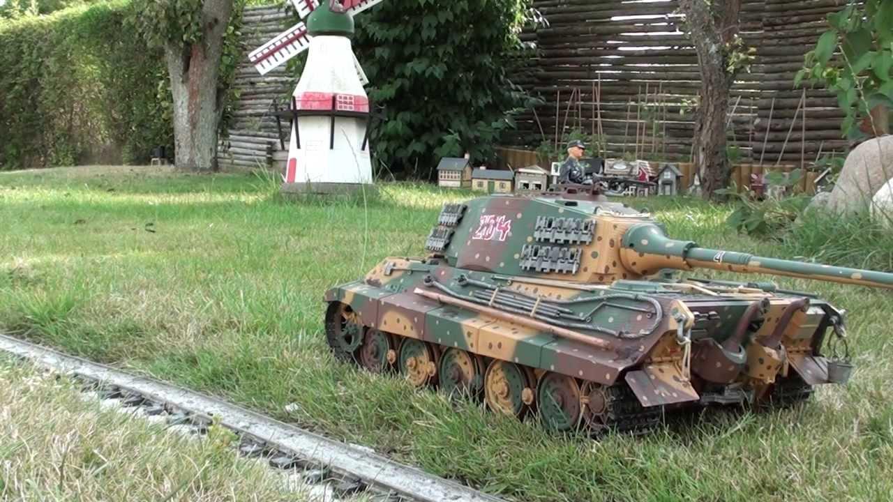 Tamiya King Tiger Tank Youtube