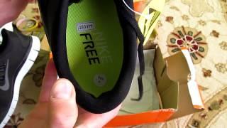 видео Кроссовки Nike Free Run 3, 5 - купить Найк Фри Ран (3.0, 5.0) в Москве (женские и мужские