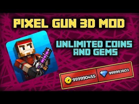 [PG3D] Pixel Gun 3D Unlimited Hack (Money, All Weapons, Skins) 2019 [16.7.2]