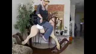 Rocking Horse Demonstration On Traditional Bow Rockers