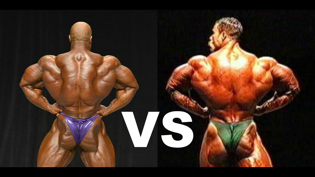 Kevin Levrone VS Phil Heath: BACK 2 BACK - YouTube