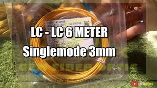 LC - LC 10 Meter Kabel Patch Cord FIBER OPTIC Singlemode Simplex 3mm