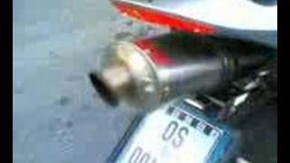 LeoVince Titanium on CBR 600 RR sound